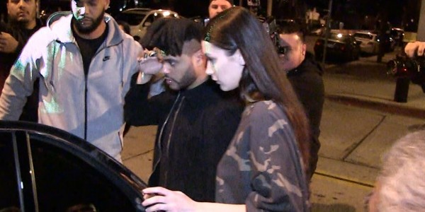 The Weeknd, Bella Hadid — Screw this Restaurant … That Table, Seriously?