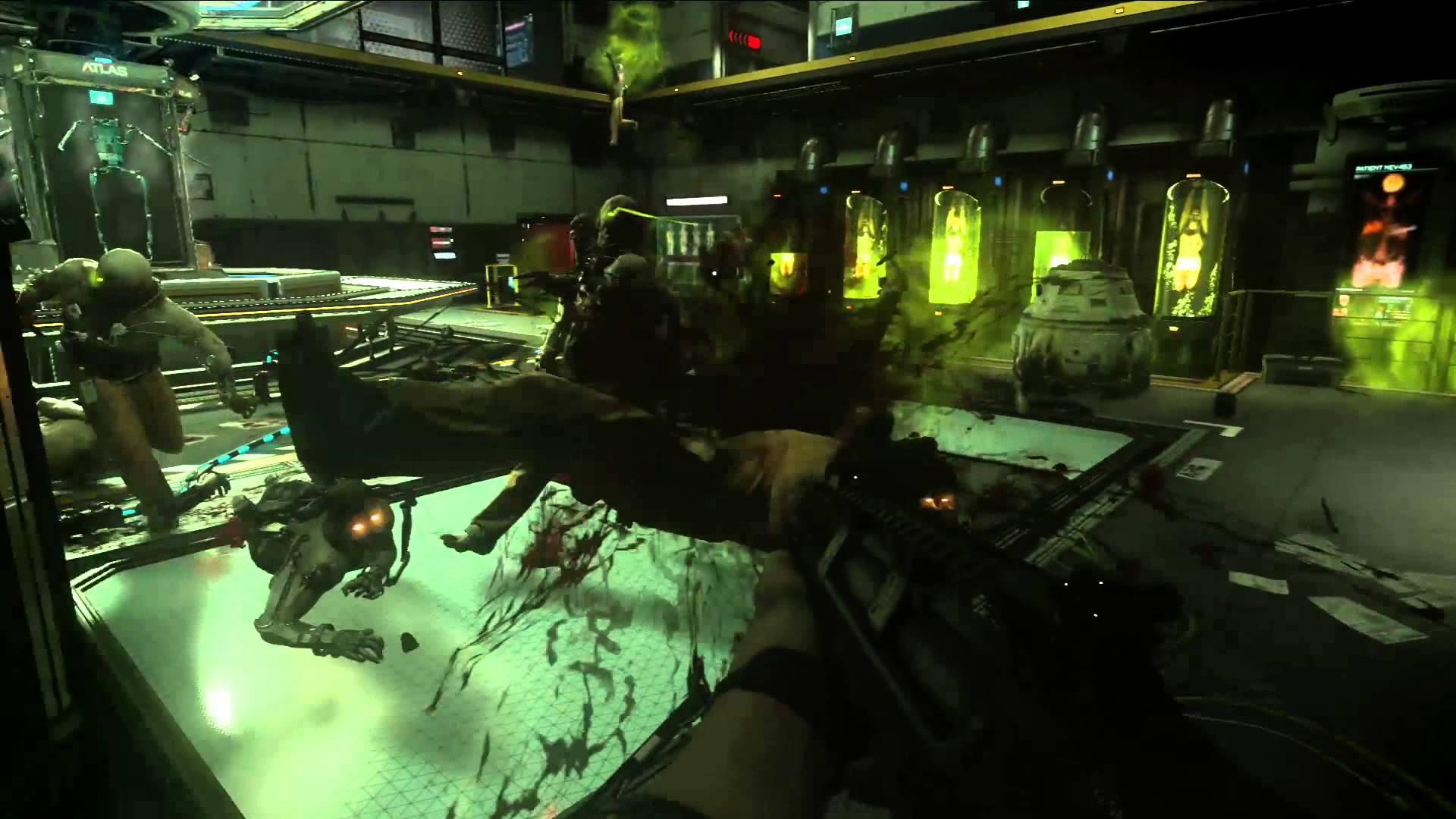 Call Of Duty Advanced Warfare Exo Zombies Gameplay Trailer Urban Magazine